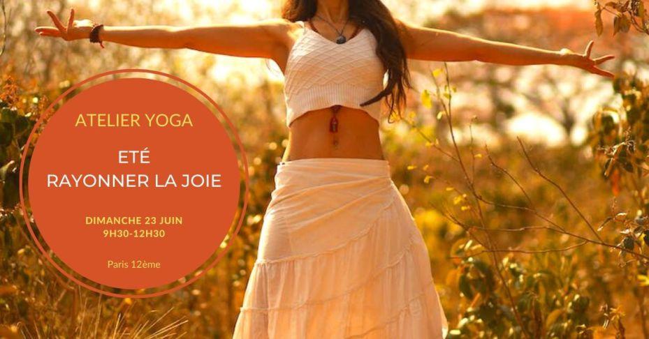 stage yoga été Paris