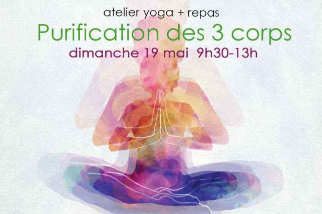 atelier yoga Purification des 3 corps