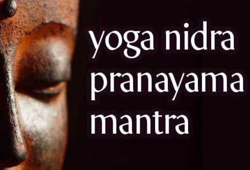 yoga nidra mantra pranayama